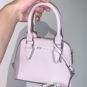 Steve Madden blush mini purse